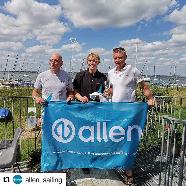 Volvo Noble Marine Allen RS600 Nationals Winners 2019
