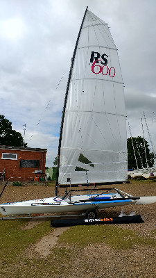 More information on New RS600 Sails available to order now